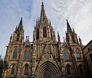 Catedral de Barcelona y el Barrio Gótico