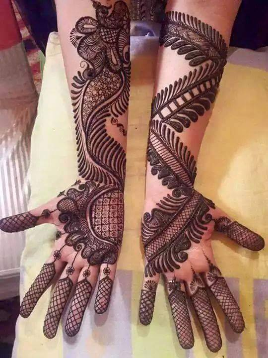 Mehndi Designs New Models : Mehndi design new model makedes