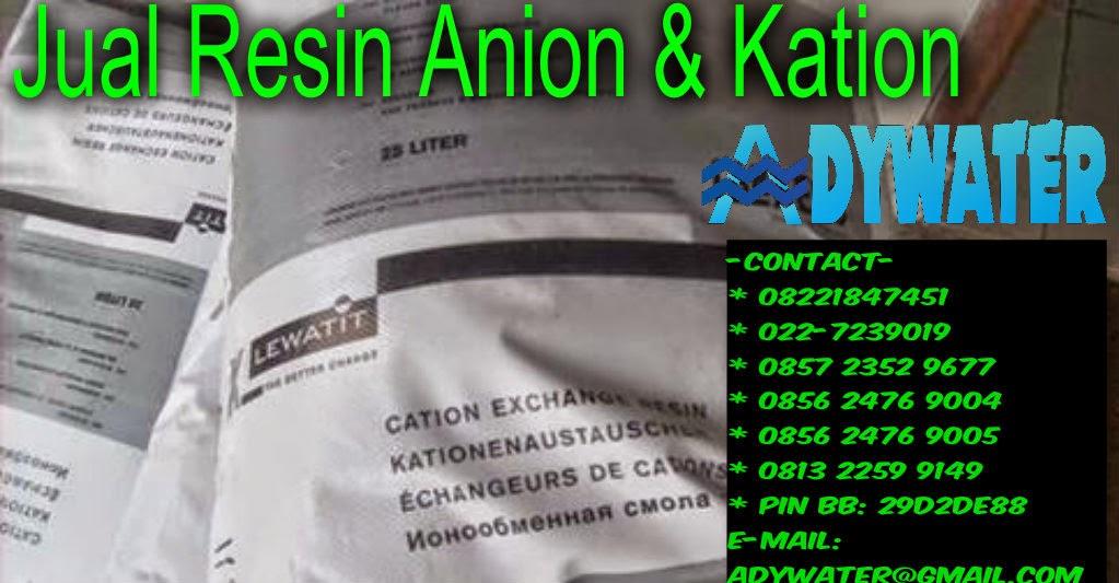Jual Resin Kation - Telp : 085723529677