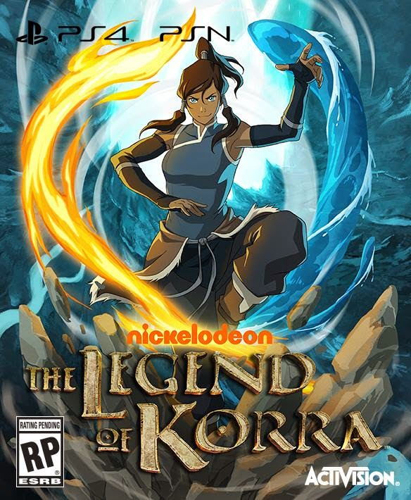 Legend of Korra video game by Platinum Games & Activision for Xbox One, Playstation 4, Xbox 360, Playstation 3, & PC