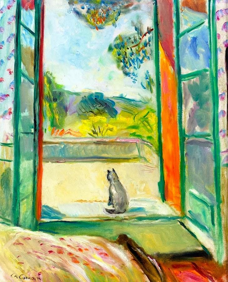 L 39 il des chats l art de la fen tre camoin for Matisse fenetre ouverte