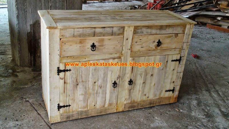 for Como hacer muebles con palets de madera
