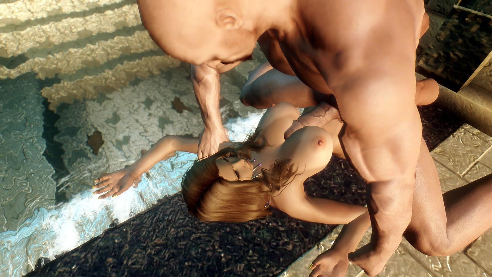 Skyrim sex scene naked image