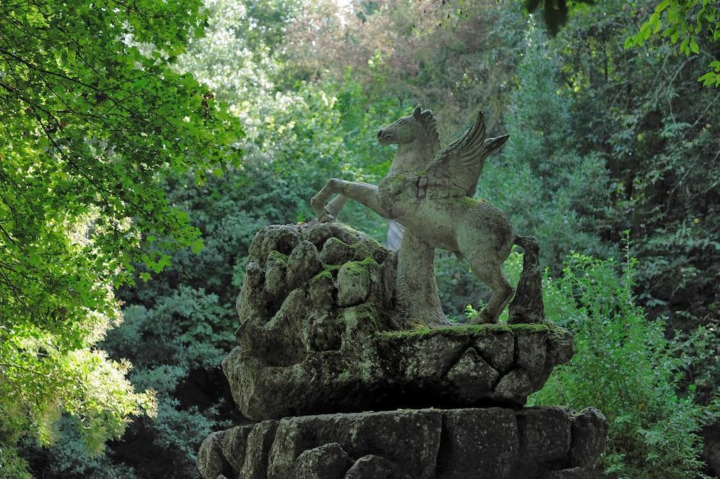 brescia: Monster Garden , Bomarzo, Italy