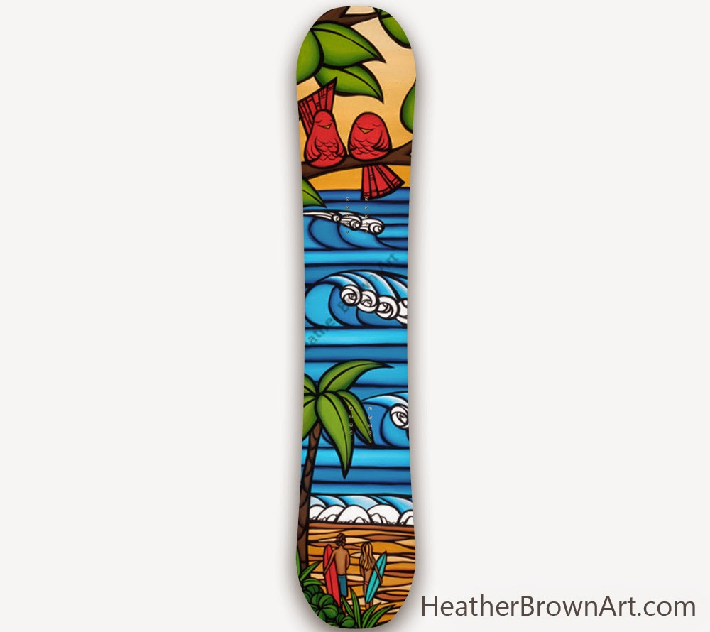 heather brown snowboard
