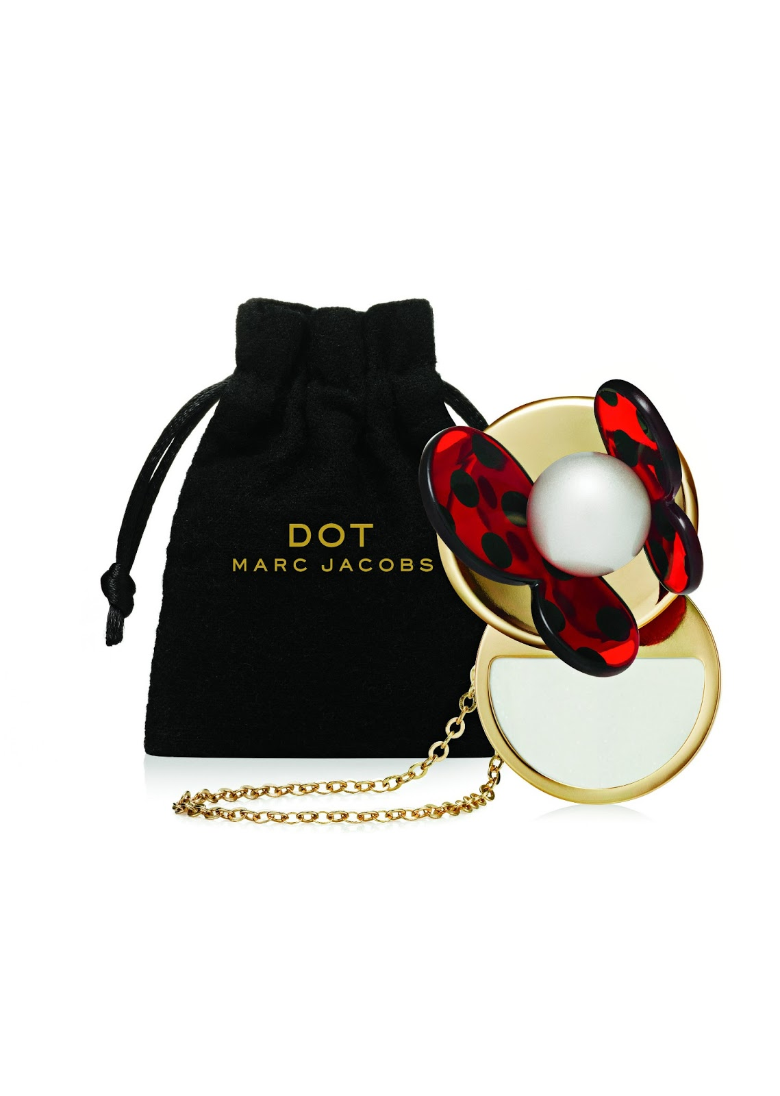 Wear Marc Jacobs Dot around your neck