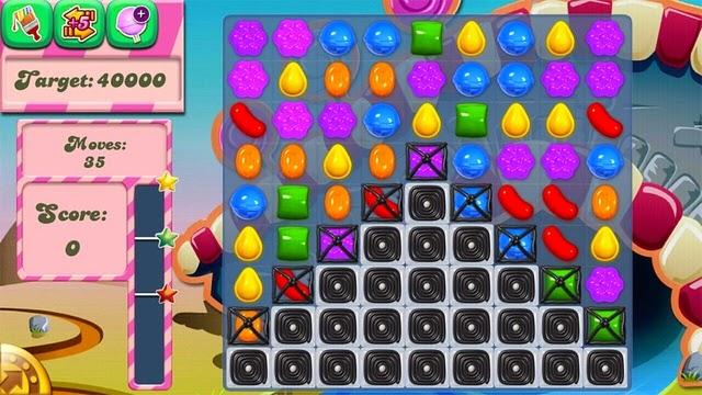 Candy Crush Saga game puzzle yang populer dan baik untuk anak