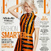 Michelle Williams covers Elle UK April 2015 in a Louis Vuitton dress