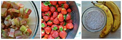 Zapiekanka truskawkowa - składniki