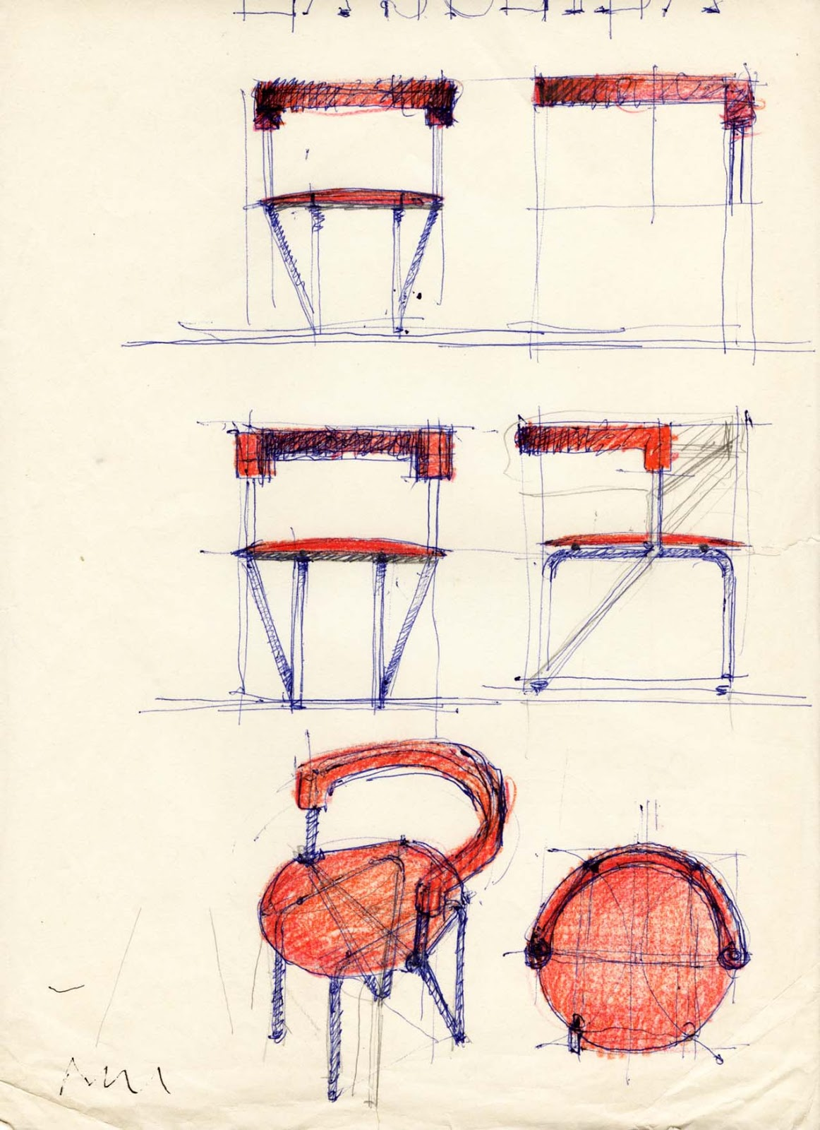 Molto Vent'anni di disegni dell'Arch. Antonio Saporito: 2015 JL35