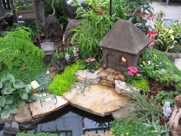 Сад для феи своими руками