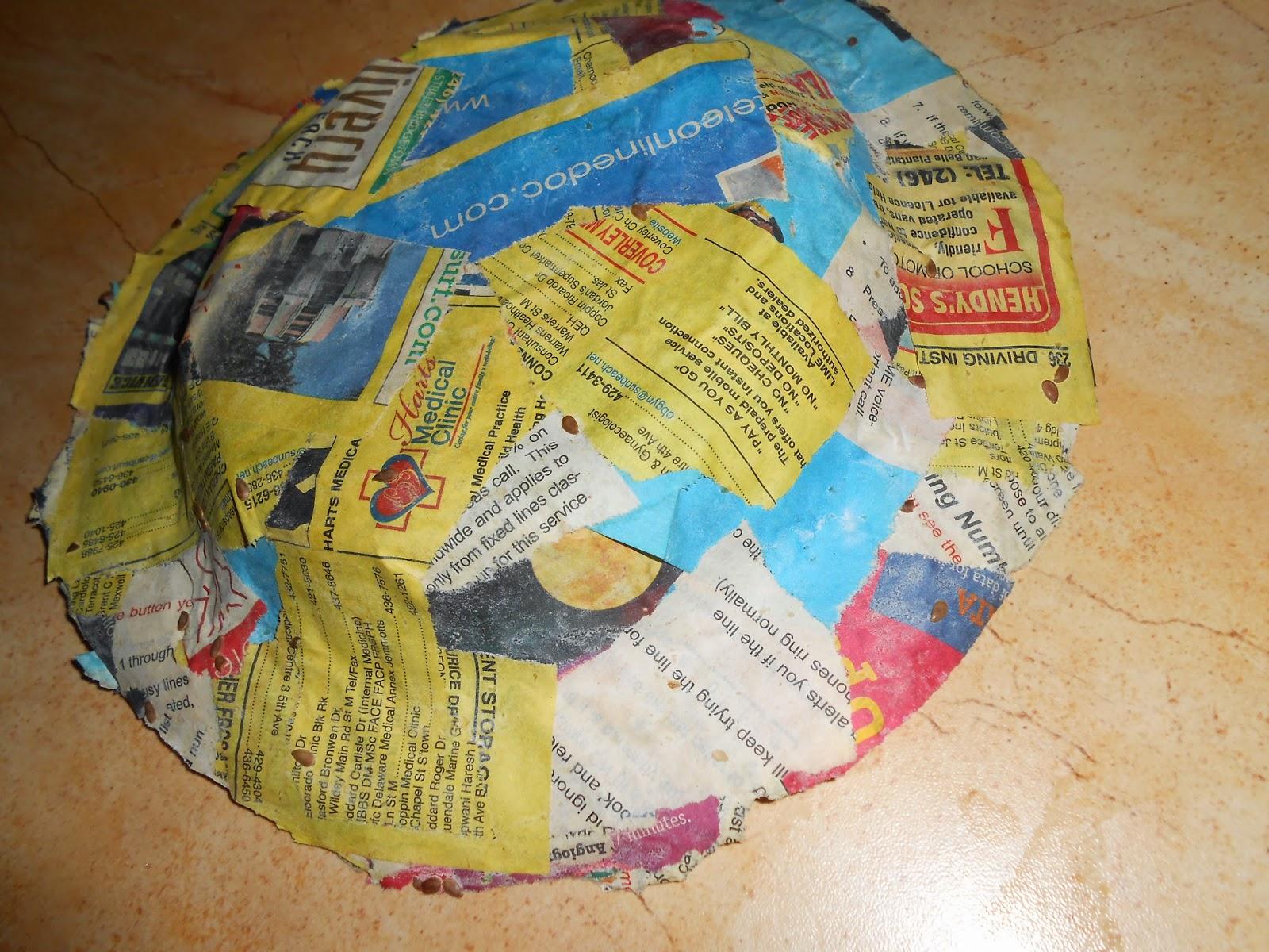 paper mache papier maché as a diy art therapy project
