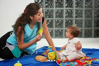 cuidado de niños y bebés a domicilio