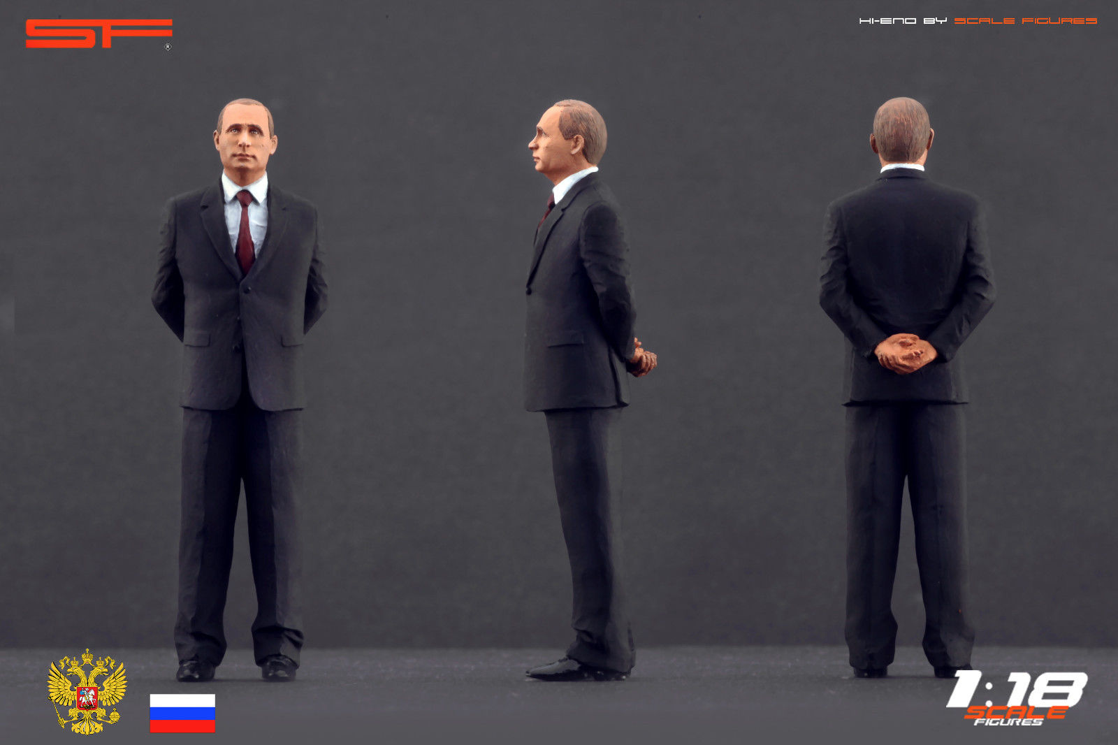 You Can Now Get A Vladimir Putin Scale Figure For Your Diecast Collection Carscoops Com