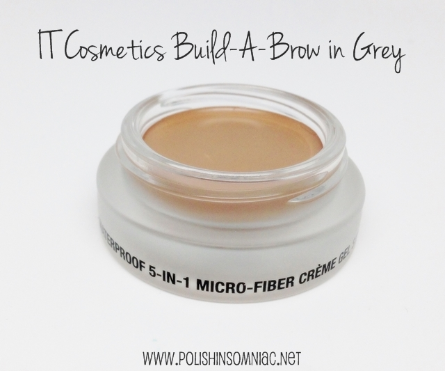 IT Cosmetics Build-A-Brow Waterproof 5-In-1 Micro-Fiber Crème Stain in Grey