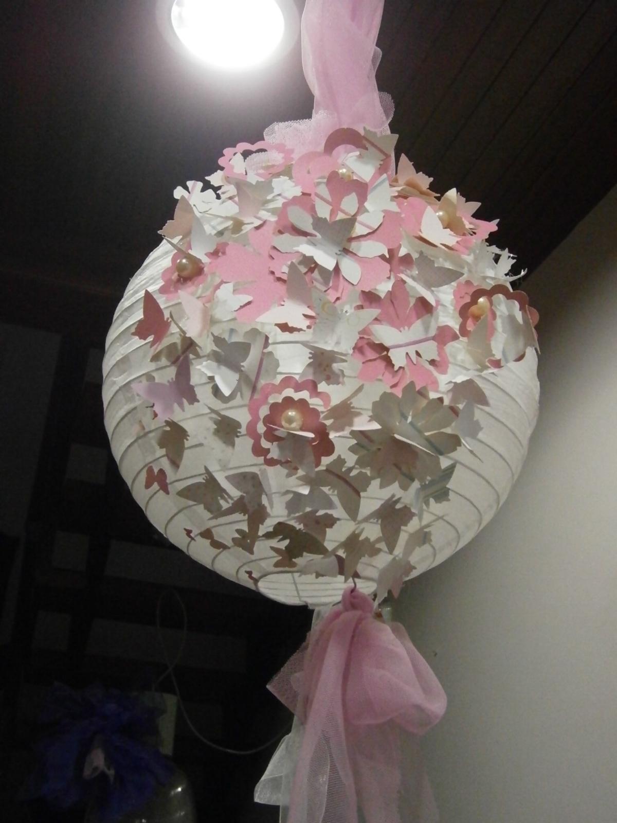 Ideas de susana y luisa hacemos preciosas l mparas de - Lamparas de pie de papel ...