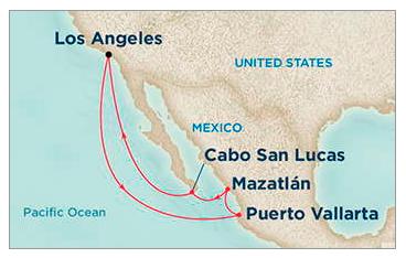 Princess Cruises, Mexican Cruise, Puerto Vallarta