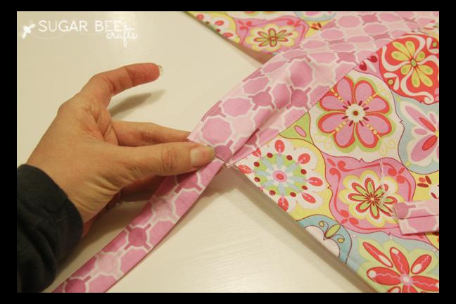how to make a apron waistband