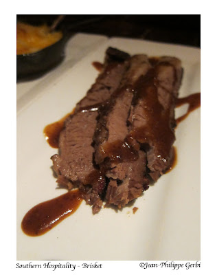 Image of Brisket at Southern Hospitality in Hell's Kitchen NYC, New York