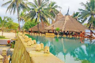 Novotel Lombok - Free Aqua Aerobic @Upper Pool | www.meheartseoul.blogspot.com