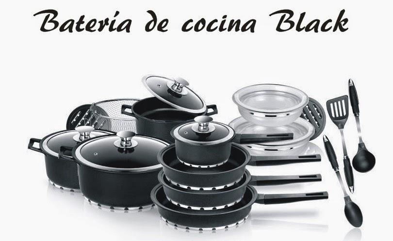 Tecnolog A Y Hogar Bater A De Cocina Ecol Gica Black