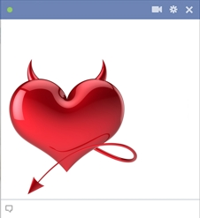 Devil Heart For Facebook