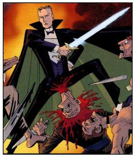 orlando melee sword excalibur fight loxg league of extraordinary gentlemen alan moore century
