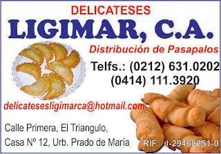 DELICATESES LIGIMAR, C.A. en Paginas Amarillas tu guia Comercial