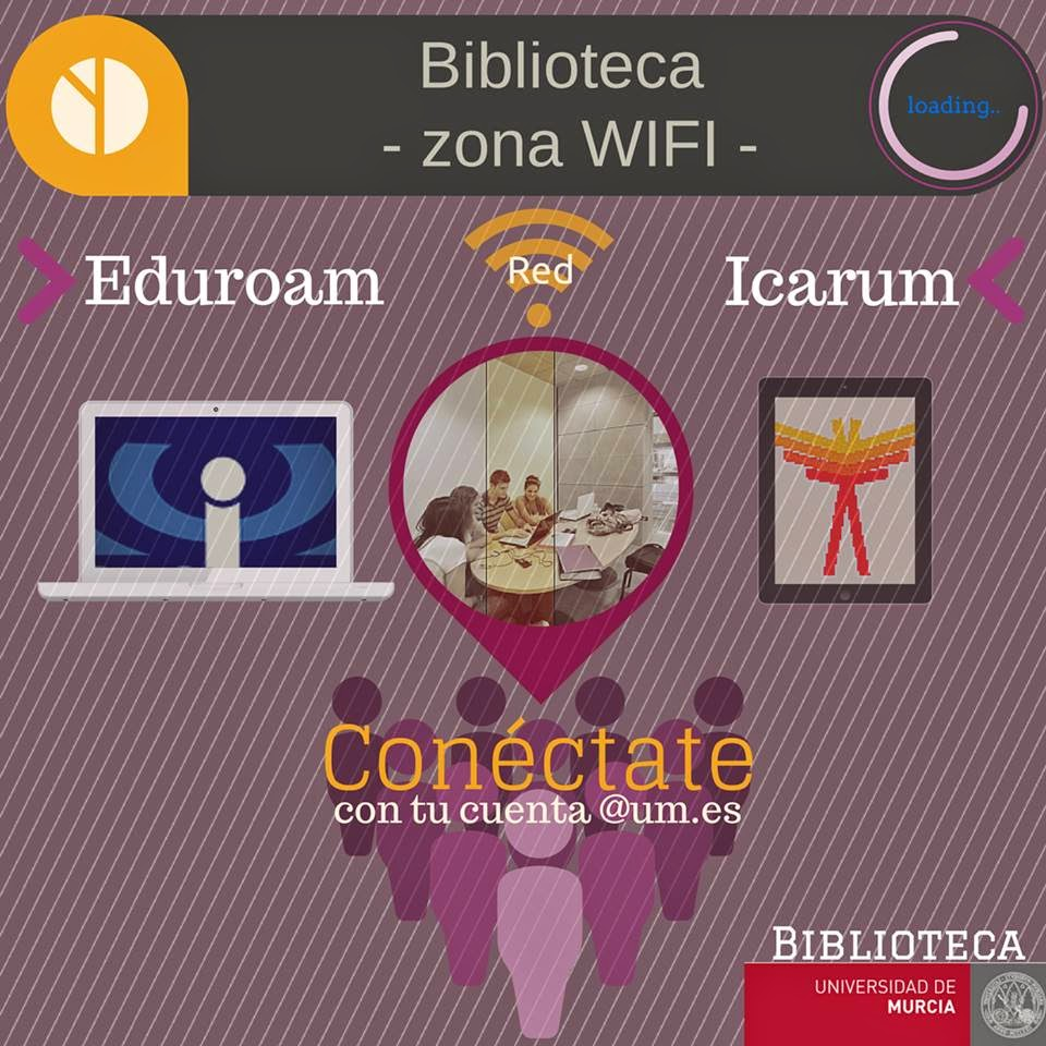 Biblioteca BUM - zona wifi