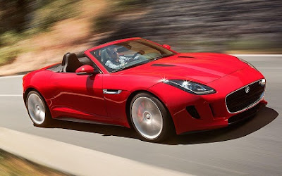 this is the Jaguar F-Type