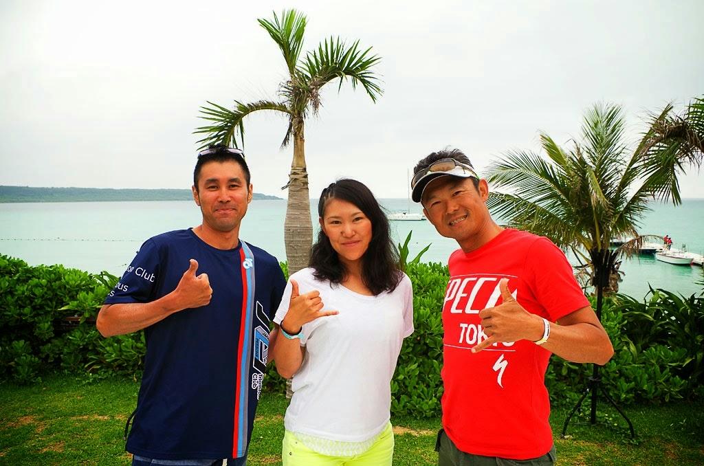 [PHOTO]プレミアムTTフィットモニター、木村さんと和田さん、そして我らがTKさん
