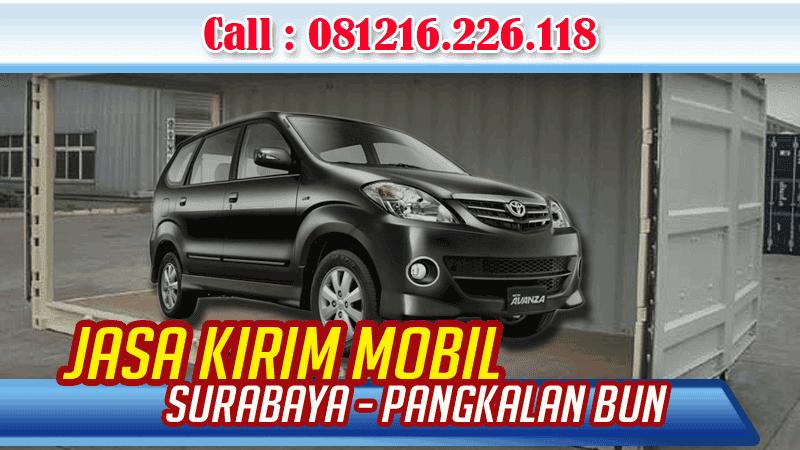 Jasa Pengiriman Mobil Surabaya Pangkalan Bun