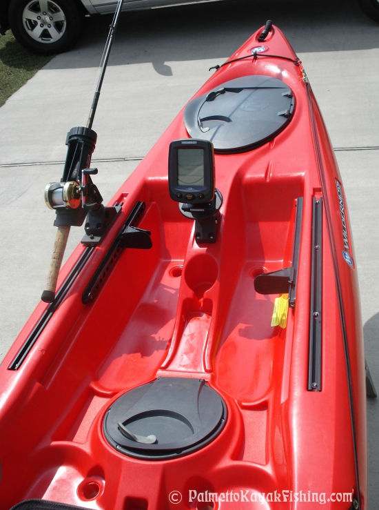 palmetto kayak fishing: diy kayak fish finder install - 2012, Fish Finder