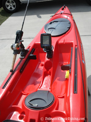 Palmetto Kayak Fishing Diy Kayak Fish Finder Install