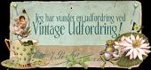 I won at Vintage Udfordring