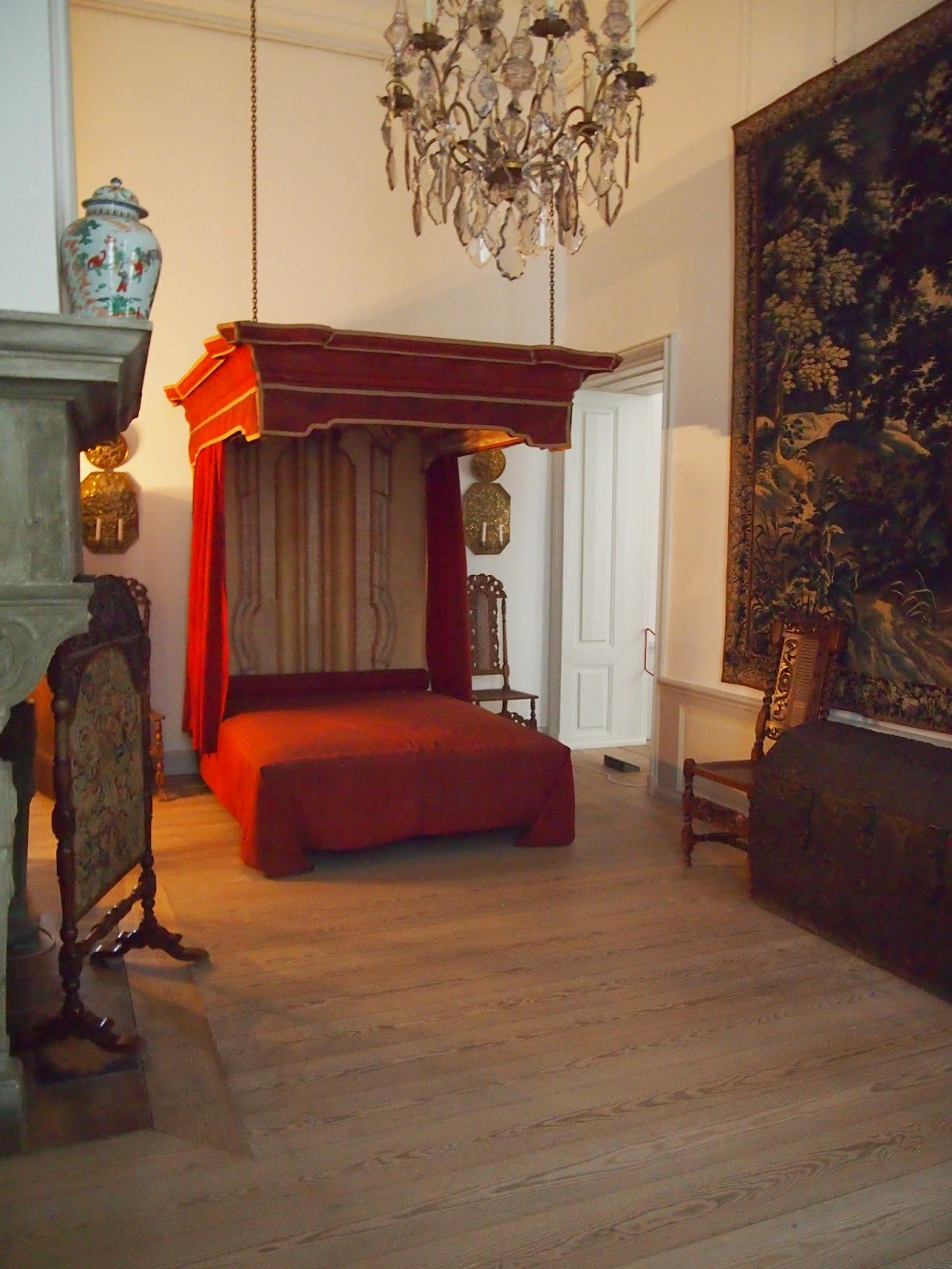 a bed fit for a king in kronborg castle