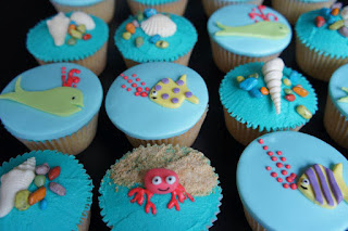 summer cupcakes
