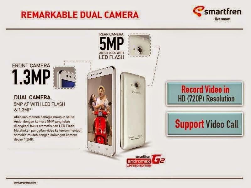 Smartfren Andromax G2 LE, HP Android Terbaru Smartfren Harga 1 Jutaan
