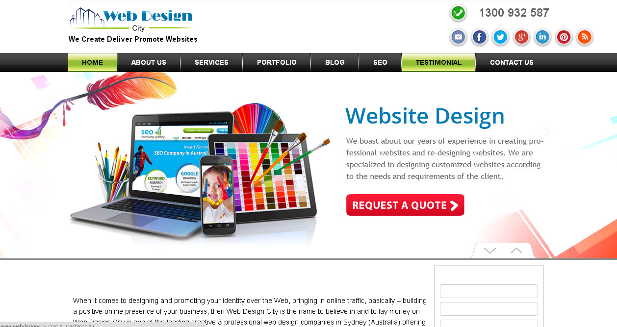 Different types of Web Design Sites and their salient operative ...