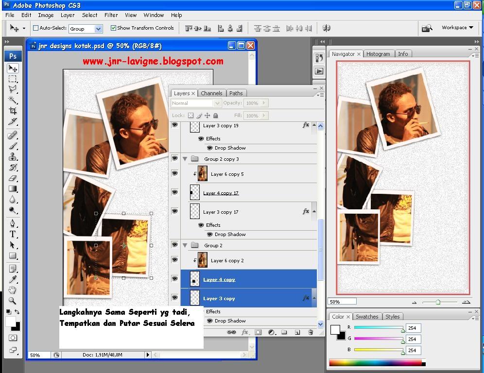Foto Tutorial Cara Edit Foto Dalam Foto 10