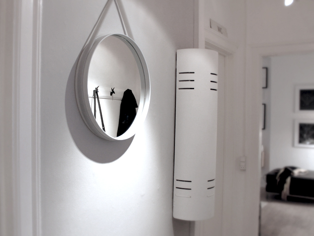 createcph hay strap mirror my hallway. Black Bedroom Furniture Sets. Home Design Ideas