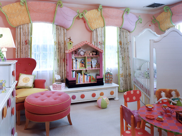 Toddler girl bedroom decorating ideas dream house experience - Idea for a toddler girls room ...