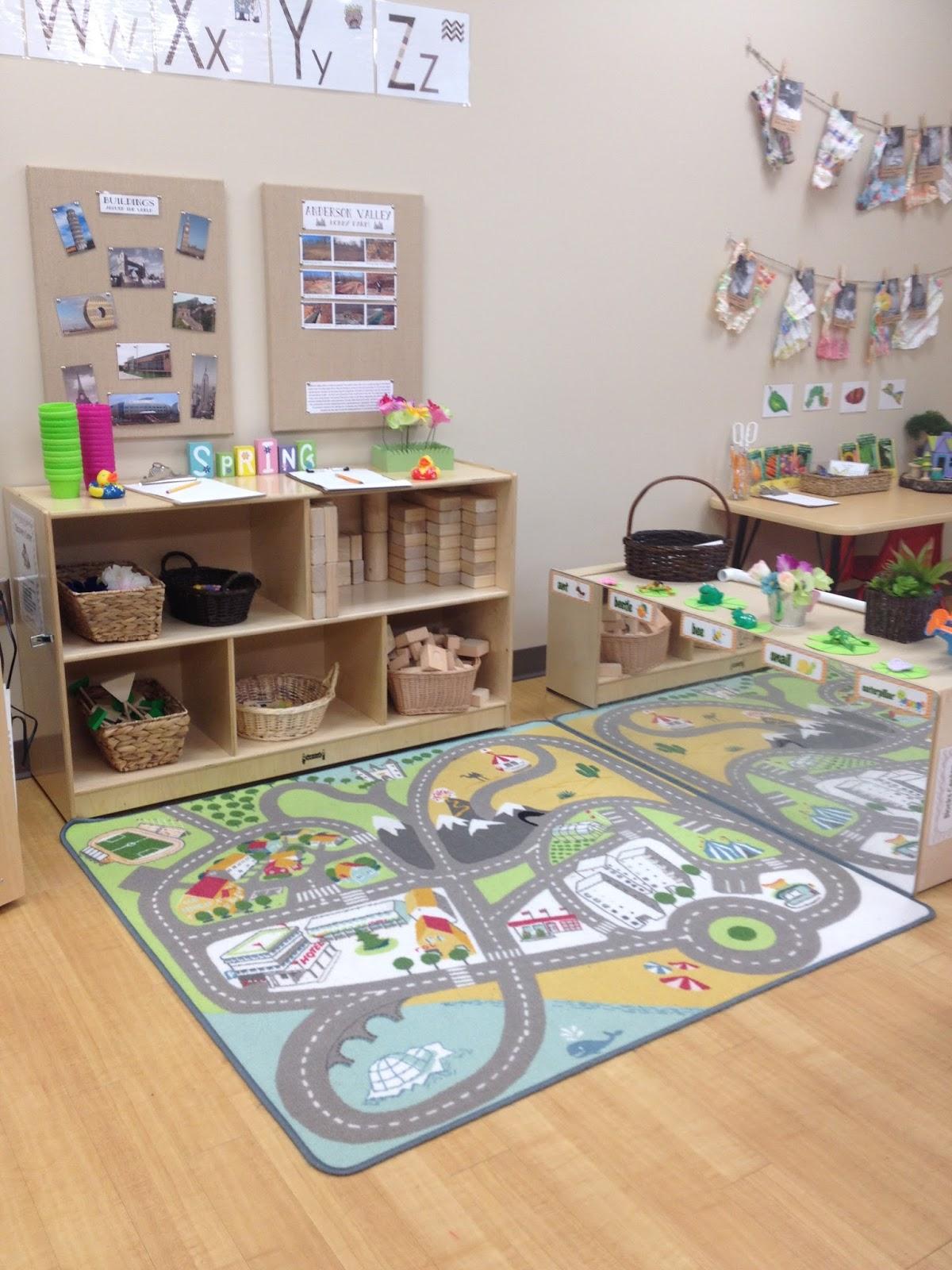 Classroom Block Design ~ Pre k tweets classroom tour