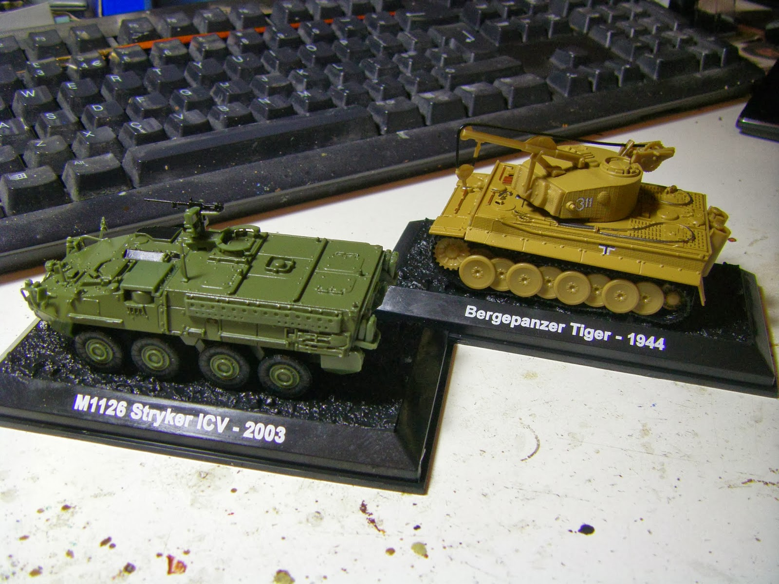 Bergpanzer Tiger & Stryker - Military Vehicle Magazine