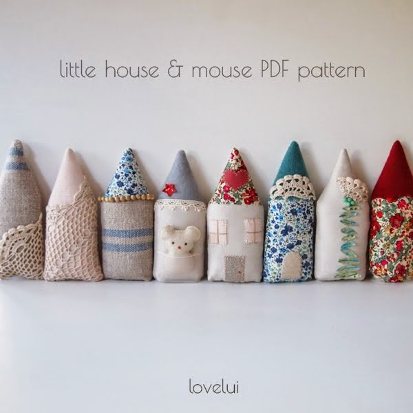 PDF Pattern Little House & Mouse