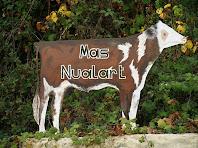 Rètol del mas Nualard