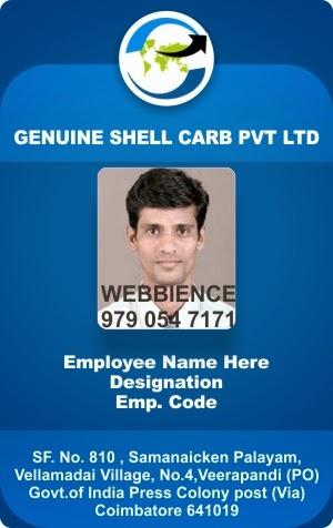 ID Card - Coimbatore - Ph: 97905 47171