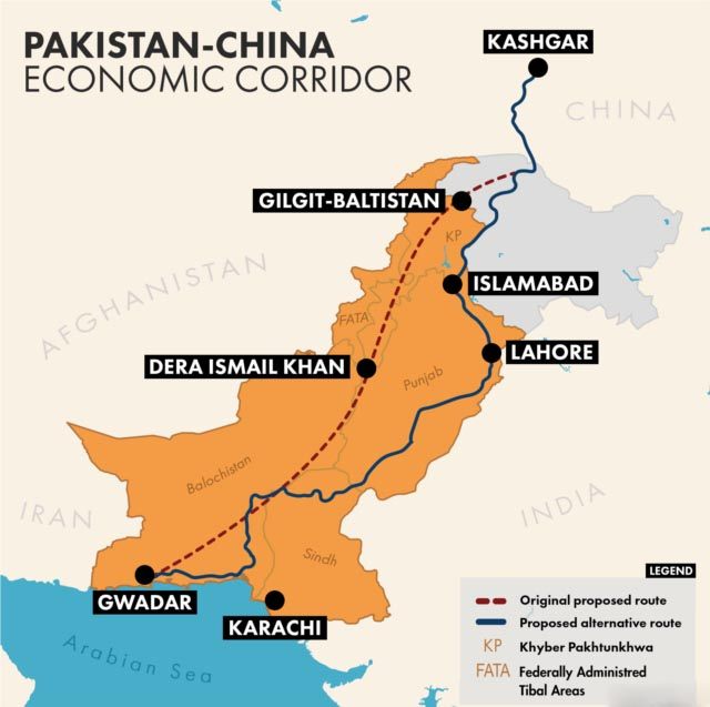 China Pakistan Economic Corridor ~ India GK, Current Affairs 2019