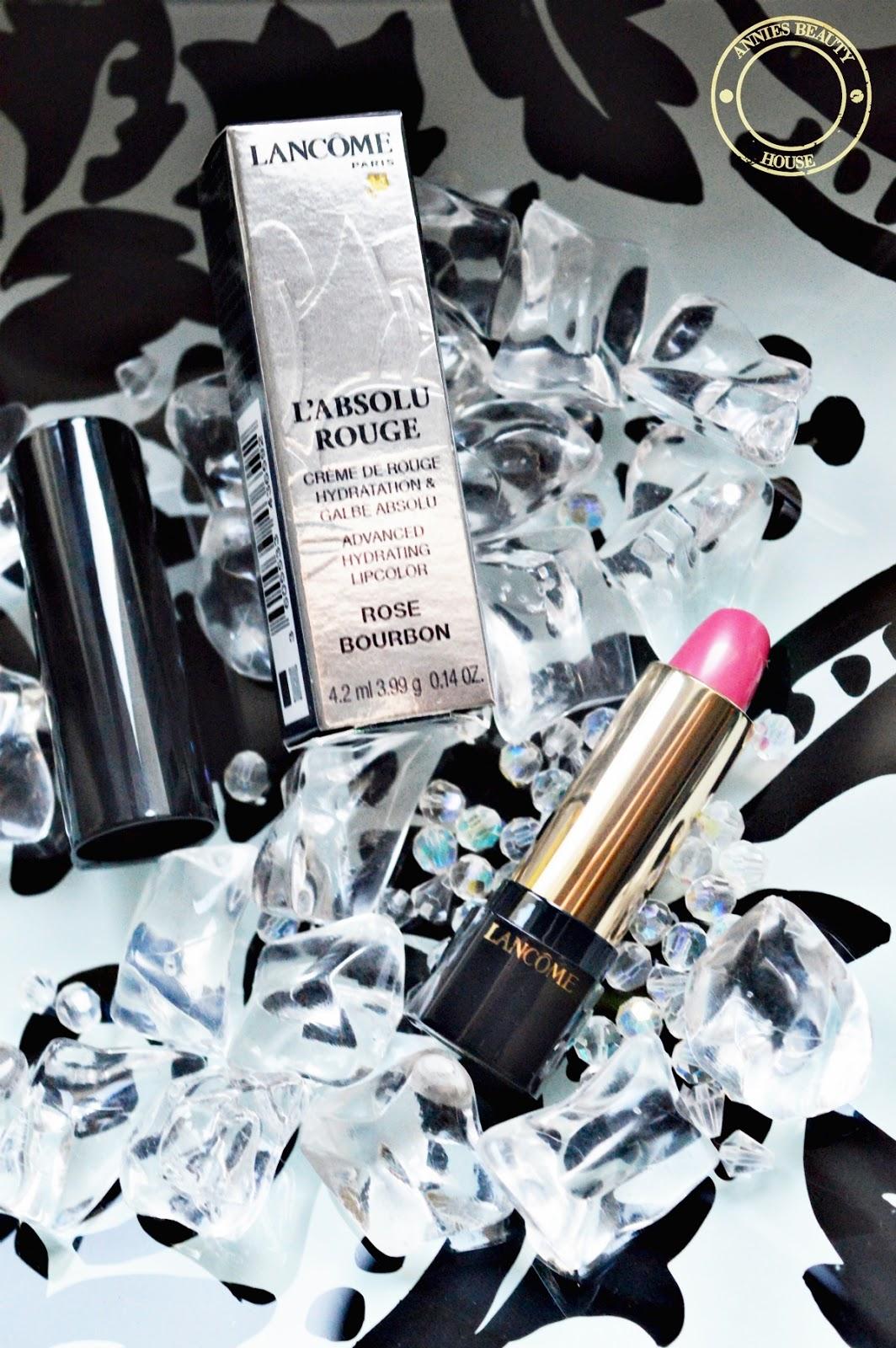 LANCÔME L'Absolu Rouge Rose Bourbon 257 - open lipstick