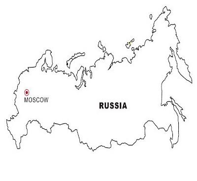 Russia Coloring Pages Color Coloringsnet